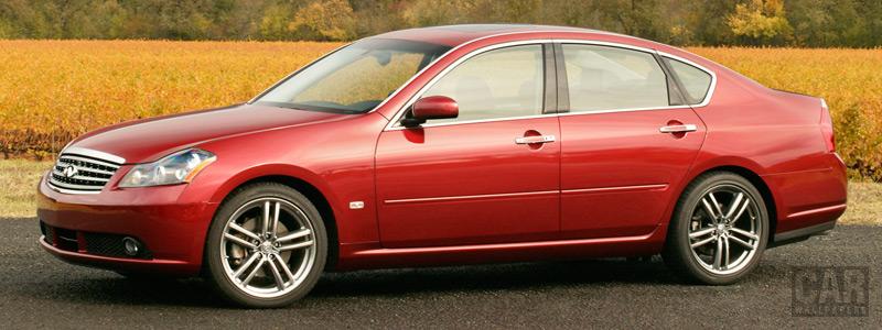 Обои автомобили Infiniti M45 - 2007 - Car wallpapers