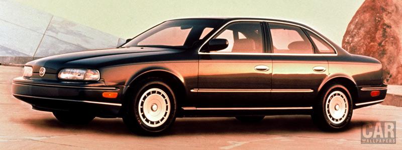Обои автомобили Infiniti Q45 - 1990 - Car wallpapers