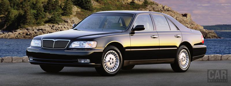 Обои автомобили Infiniti Q45 - 1998 - Car wallpapers