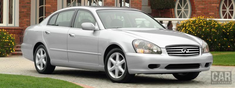 Обои автомобили Infiniti Q45 - 2003 - Car wallpapers