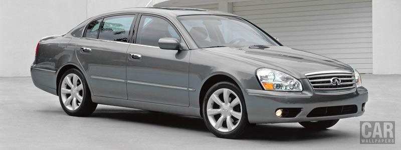 Обои автомобили Infiniti Q45 - 2005 - Car wallpapers