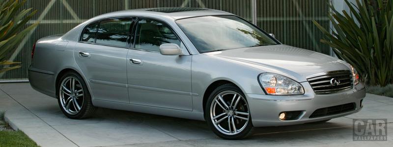 Обои автомобили Infiniti Q45 - 2006 - Car wallpapers