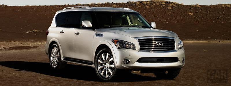 Обои автомобили Infiniti QX - 2011 - Car wallpapers