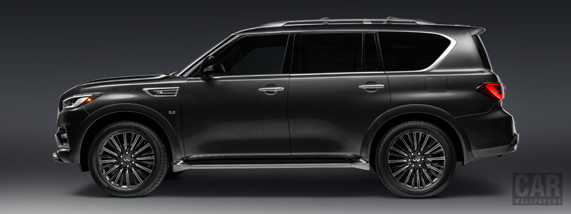 Обои автомобили Infiniti QX80 5.6 Limited - 2018 - Car wallpapers