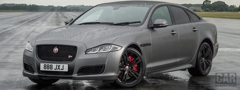 Обои автомобили Jaguar XJR575 UK-spec - 2017 - Car wallpapers