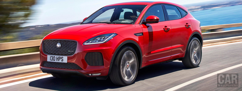 Обои автомобили Jaguar E-Pace R-Dynamic First Edition - 2017 - Car wallpapers