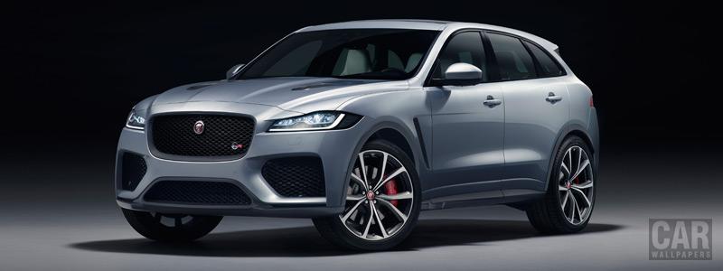 Обои автомобили Jaguar F-Pace SVR - 2018 - Car wallpapers