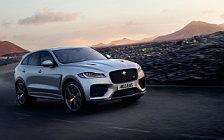 Обои автомобили Jaguar F-Pace SVR - 2018