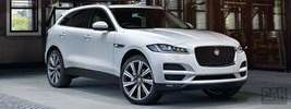Jaguar F-Pace Portfolio 20d AWD UK-spec - 2016