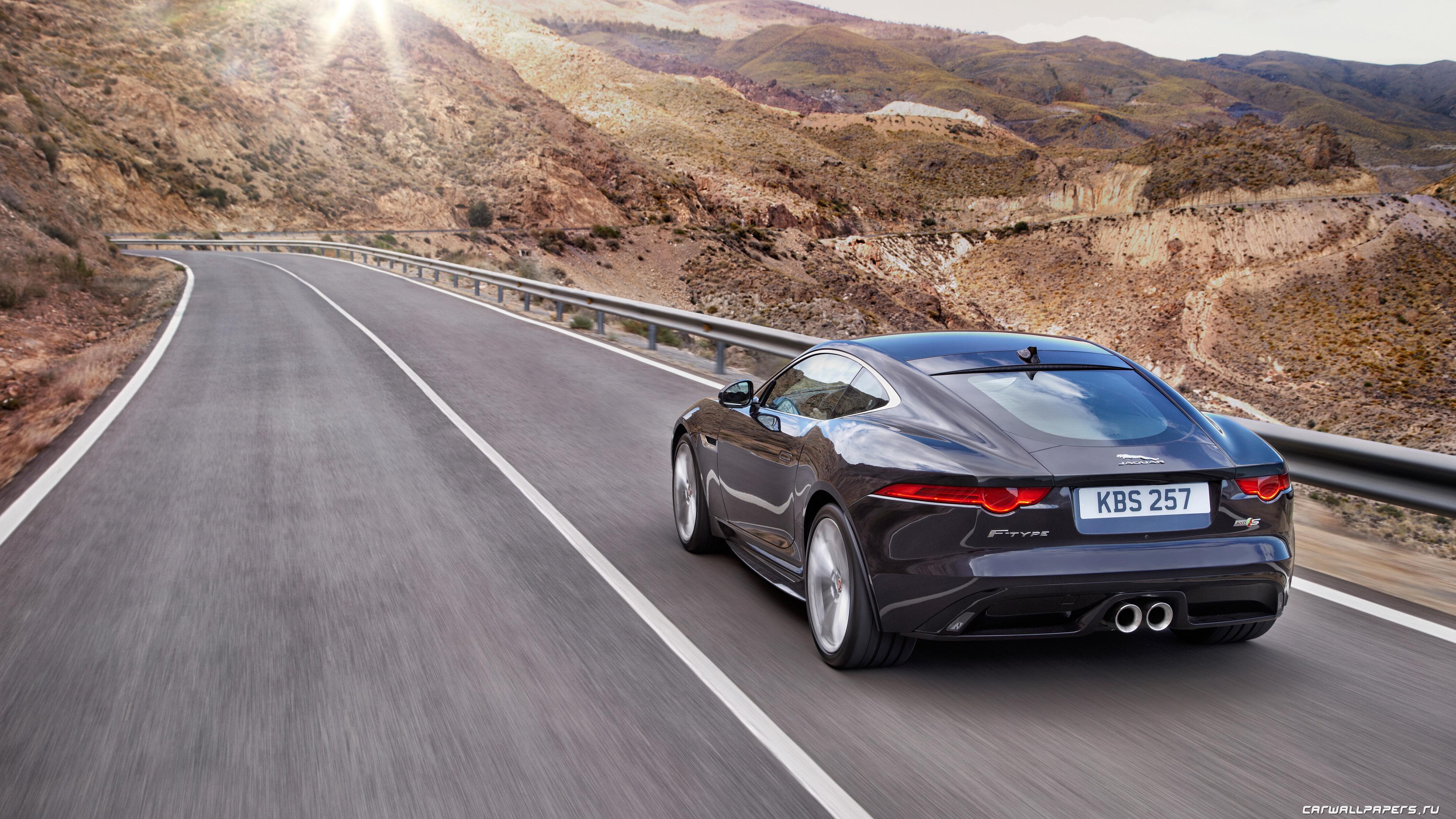 Cars Desktop Wallpapers Jaguar F Type S Coupe Awd 2015