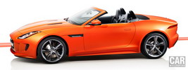 Jaguar F-TYPE S Firesand - 2013