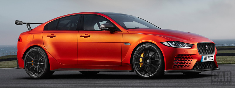 Обои автомобили Jaguar XE SV Project 8 - 2017 - Car wallpapers