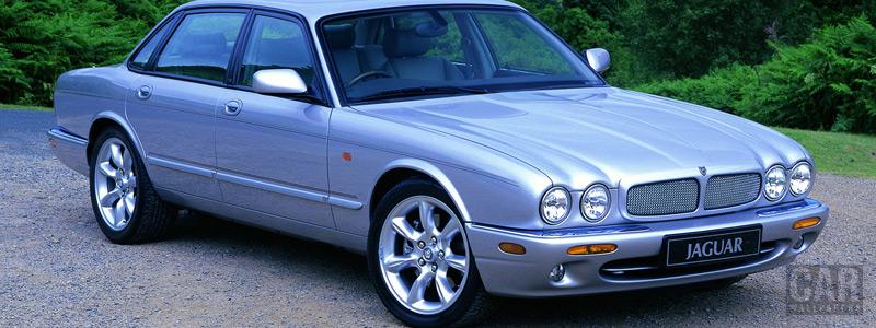 Обои автомобили Jaguar XJR X308 - 1997-2003 - Car wallpapers
