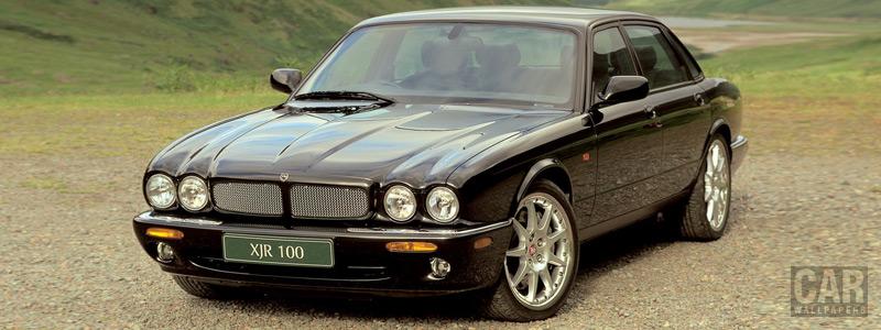 Обои автомобили Jaguar XJR 100 X308 - 2002 - Car wallpapers