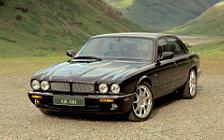 Обои автомобили Jaguar XJR 100 X308 - 2002