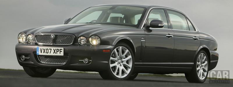 Обои автомобили Jaguar XJ Sovereign - 2008 - Car wallpapers