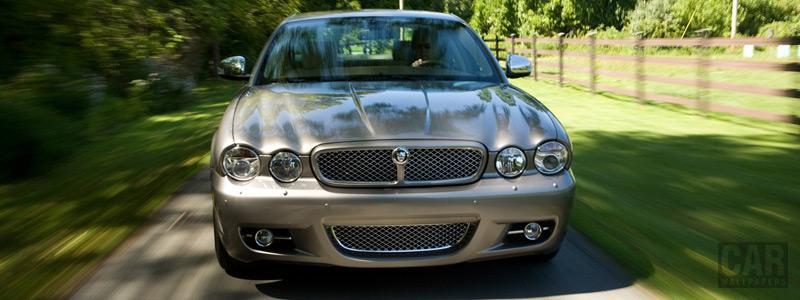 Обои автомобили Jaguar XJ Vanden Plus - 2008 - Car wallpapers