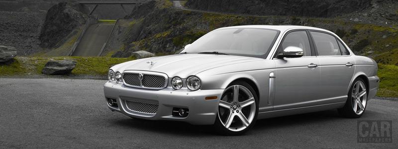 Обои автомобили Jaguar XJ8 L - Car wallpapers