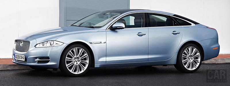 Обои автомобили Jaguar XJ UK-spec - 2010 - Car wallpapers
