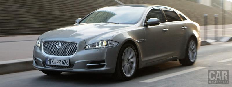Обои автомобили Jaguar XJL - 2011 - Car wallpapers
