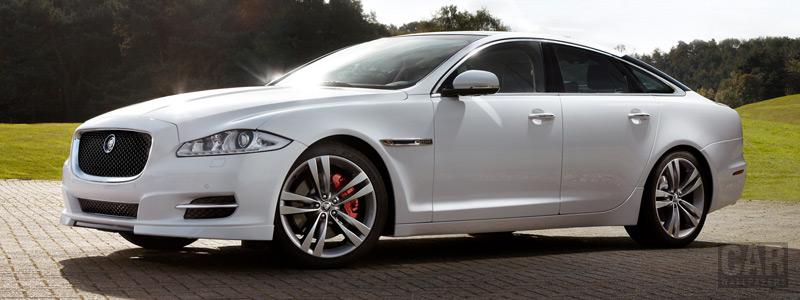 Обои автомобили Jaguar XJ Sport and Speed Pack - 2012 - Car wallpapers