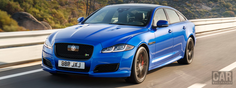 Обои автомобили Jaguar XJR575 LWB - 2017 - Car wallpapers
