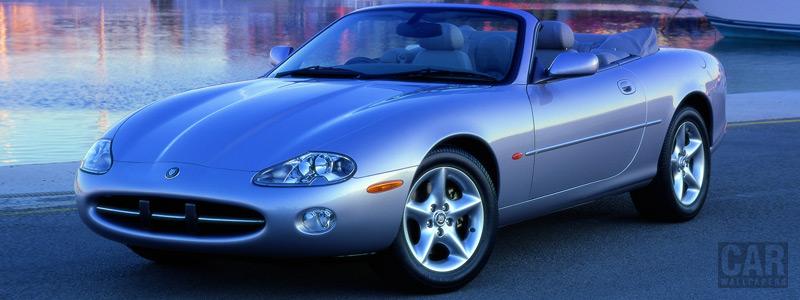 Обои автомобили Jaguar XK8 Convertible - 1996-2002 - Car wallpapers