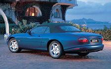 Обои автомобили Jaguar XK8 Convertible - 1996-2002