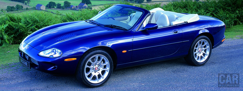 Обои автомобили Jaguar XKR Convertible - 1998-2002 - Car wallpapers