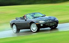Обои автомобили Jaguar XKR 100 Convertible - 2002