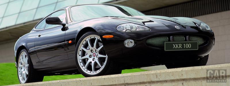 Обои автомобили Jaguar XKR 100 Coupe - 2002 - Car wallpapers
