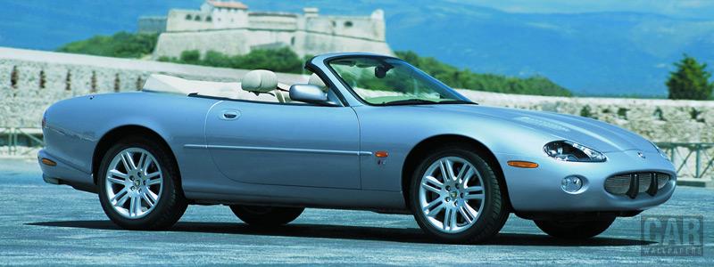 Обои автомобили Jaguar XKR Convertible - 2003-2004 - Car wallpapers
