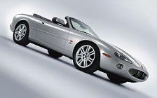 Обои автомобили Jaguar XKR Convertible - 2003-2004