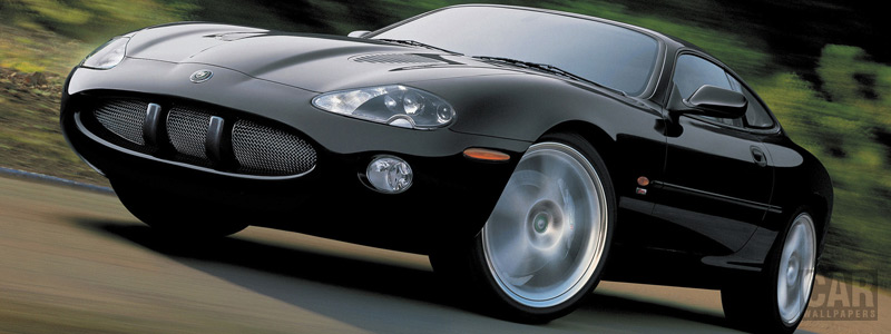 Обои автомобили Jaguar XKR Coupe - 2003-2004 - Car wallpapers