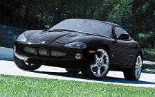 Обои автомобили Jaguar XKR Coupe - 2003-2004