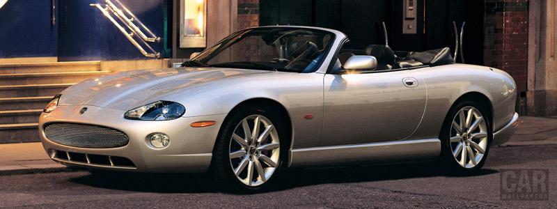 Обои автомобили Jaguar XKR Convertible - 2004-2006 - Car wallpapers