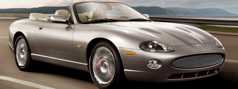 Обои автомобили Jaguar XKR Convertible Victory Edition - 2006 - Car wallpapers
