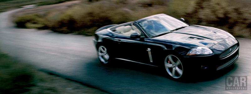 Обои автомобили Jaguar XKR Convertible - Car wallpapers