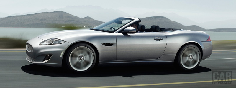 Обои автомобили Jaguar XK Convertible - 2011 - Car wallpapers
