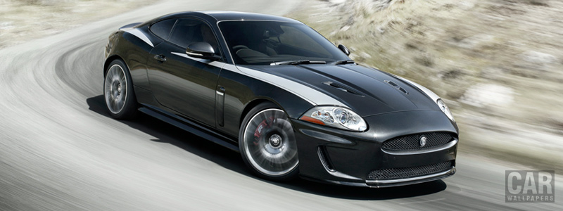Обои автомобили Jaguar XKR 75 - 2011 - Car wallpapers