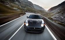 Обои автомобили Jaguar XKR 75 - 2011