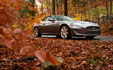 Обои автомобили Jaguar XKR Convertible - 2011