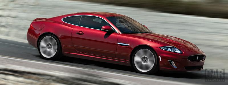 Обои автомобили Jaguar XKR Coupe - 2011 - Car wallpapers
