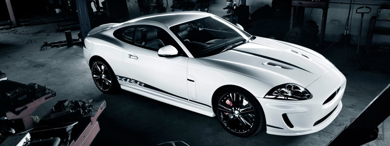 Обои автомобили Jaguar XKR Speed and Black Pack - 2011 - Car wallpapers