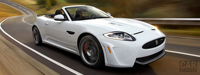 Обои автомобили Jaguar XKR-S Convertible - 2012 - Car wallpapers