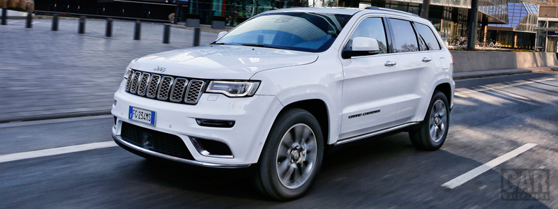 Обои автомобили Jeep Grand Cherokee Summit EU-spec - 2017 - Car wallpapers