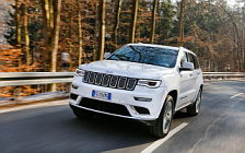 Обои автомобили Jeep Grand Cherokee Summit EU-spec - 2017