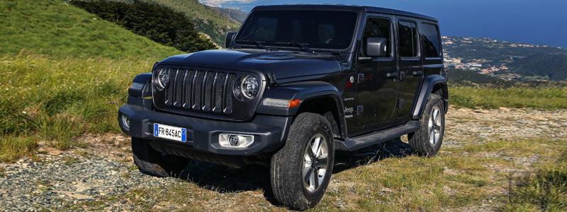 Обои автомобили Jeep Wrangler Unlimited Sahara EU-spec - 2018 - Car wallpapers