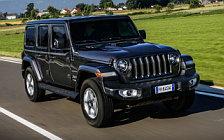 Обои автомобили Jeep Wrangler Unlimited Sahara EU-spec - 2018