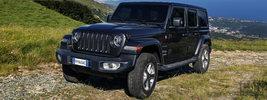 Jeep Wrangler Unlimited Sahara EU-spec - 2018